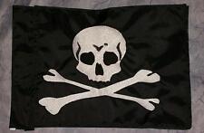 Custom Skull & Bones Safety Flag 4 ATV UTV Bike Jeep Dune Safety Flag Whip Pole