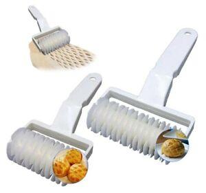 2 Pack Lattice Pastry Cutter Set, XCOZU Lattice Pastry Cutter Roller Cookie...