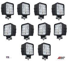 10X 16 LED 12V 24V 48W SQUARE WORK FOG SPOT LIGHTS LAMP OFFROAD 4X4 TRUCK BOAT