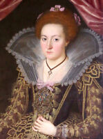 """high quality oil painting handpainted on canvas""""England's Queen Elizabeth""""@12527"""
