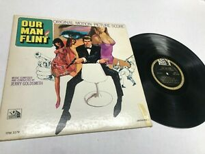 Our Man Flint Soundtrack Record lp original vinyl album