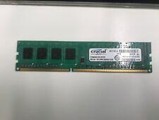 Crucial CT25664BA1339A, PC3-10600, DDR3 SDRAM, 1333 MHz, 240 PIN DIMM