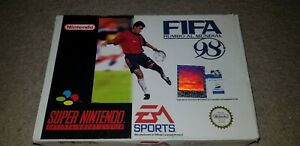 SNES Fifa 98 Road to the World Cup Box Only - Spanish edition