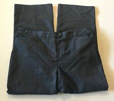 Maggie Barnes For Catherines women's dress pants 18 W Plus Jayne Blue Denim Look
