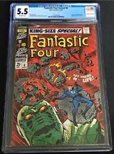 Fantastic Four Annual #6 1st Annihilus, 1st Franklin Richards, CGC 5.5 FN-    .2