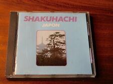 CD SHAKUHACHI japon victor HMV JAPAN judo NOTOMI goro YAMAGUCHI zen d'europe