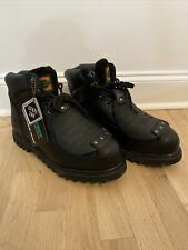 HyTest by Wolverine Super Guard Steel Toe Safety Boots Black Size 13 New w/ Tags