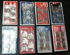 1999-2008-P+D  COMPLETE 100 COIN P+D UNCIRCULATED STATE QUARTER SET MINT SEALED