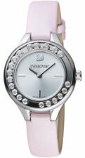 Swarovski Lovely 20 Crystals Mini Pink Leather Watch 5261493