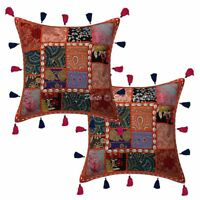 Indian Shea Shell Cotton Pillow Case Cover Home Decorative Throw Cushion Cover