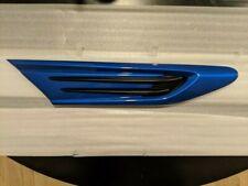 2013-2020 Subaru BRZ OEM RIGHT PASSENGER FENDER GARNISH (WR Blue Pearl - K7X)