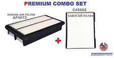 AIR FILTER + CABIN AIR FILTER COMBO FOR 2006 2007 2008 2009 2010 KIA SEDONA