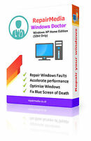 Windows XP Home Doctor Data Repair Recovery ReInstallation DVD Software (32bit)