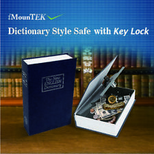 Dictionary Secret locker Safe Hidden Book Lock Security Money Stash with Key Us