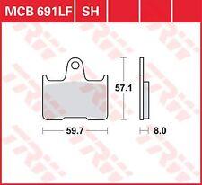 1 Paar Lucas Bremsklötze MCB691LF ZXR750RR hinten Hinterbremse f. KAWASAKI