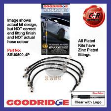Subaru Impreza Tbo Standard Cars 01-07 Goodridge Zinc CLG Brake Hoses SSU0500-4P