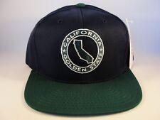 California Golden State Vintage Snapback Cap Hat