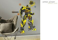 Transformers Age of Extinction Bumblebee Giant Wall Decals 5 Re Usable