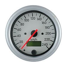 Smiths Telemetrix Speedometer Gauge 80mm 0-240kph TES3-1B32-02