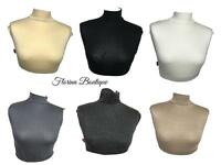 Half t shirt neck cover Hijab Islamic inner lovely stretchy jersey material