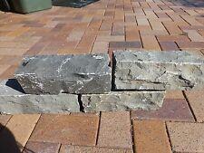 Stone  Block Garden Edging  Granite Bluestone  300 x 100 x 100mm   $9-50ea