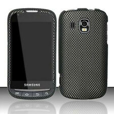 Carbon Fiber HARD Protector Case Snap On Phone Cover for Samsung Transform Ultra