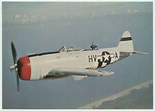 AFTER THE BATTLE POSTCARD - REBUPLIC  P-47D THUNDERBOLT