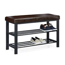 Relaxdays Banc de Rangement À Chaussures H x L P 49 81 32 cm Meuble Assise...