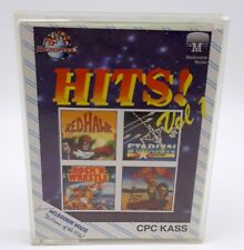 JEU AMSTRAD CPC 464 k7 - hits! vol 1 cpc kass complet redhawk starion exploding