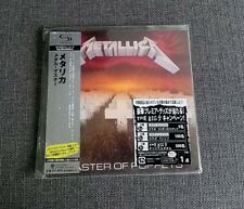 Metallica Master of Puppets JAPAN MINI LP SHM CD SEALED