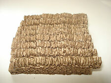 NEW BOX OF 60  Straight Walling  OO gauge for scenery/layouts