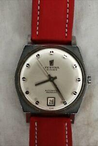 Reloj Festina automático vintage (1960's)