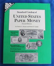 Standard Catalog of United States Paper Money, second edition (Paperback) by Rob