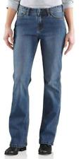 Carhartt Women's Jasper Relaxed Jeans (Medium Wash size 2 Short) - 872