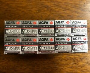 Agfa AGFAPAN APX 100 Professional 120 Format Black & White Film - 10 Roll Pack