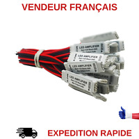 LOT DE 2 AMPLIFICATEUR POUR RUBAN LED STRIP 12V  RGB 5050/3528