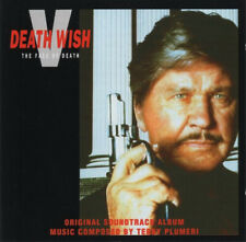 Death Wish V: The Face Of Death  - Soundtrack/Score CD ( SEALED )