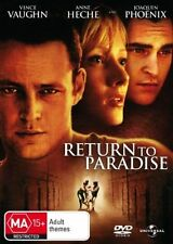 RETURN TO PARADISE Vince Vaughn DVD R4 - NEW