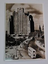 Shanghai Postcard Garden Bridge Broadway Mansion 1934 Unused Photo Reprint 2008