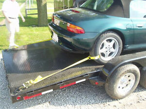 ONE- Car Trailer Tie Down Strap Ratchet Wheel Tire Trailer Truck Lasso