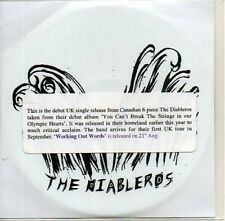 (AB741) The Diableros, Working Out Words - DJ CD