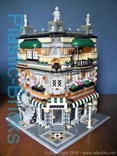 CORNER CANDY Custom Instruction Manual_10182_10185_10190_Fits LEGO Modular Sets!