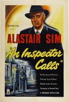 An inspector calls Alastair Sim movie poster print