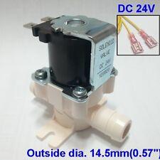 Water solenoid valve Low pressure feed water valve DC 24V 14.5mm nipple