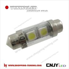1 AMPOULE NAVETTE SUPERLED SMD S HP-LED C5W 36MM~37MM - eclairage 180 ° AUTO