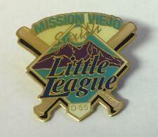 Mission Viejo South D-55 Little League Baseball Pin