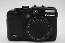 Canon PowerShot G12 10.0MP 2.8''Screen 5x Zoom Digital Camera - Black