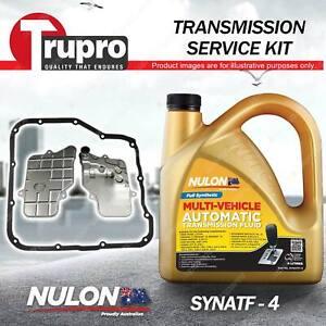 SYNATF Transmission Oil + Filter Service Kit for Subaru Forester FJ Impreza GP