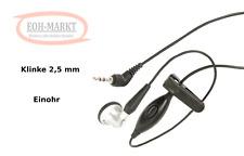 Telefonn Headset mit 2,5 mm Klinkenstecker
