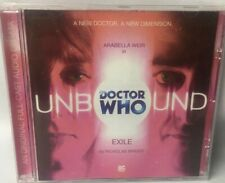 Doctor Who Unbound EXILE CD Original Full Cast Audio Drama Nicholas Briggs